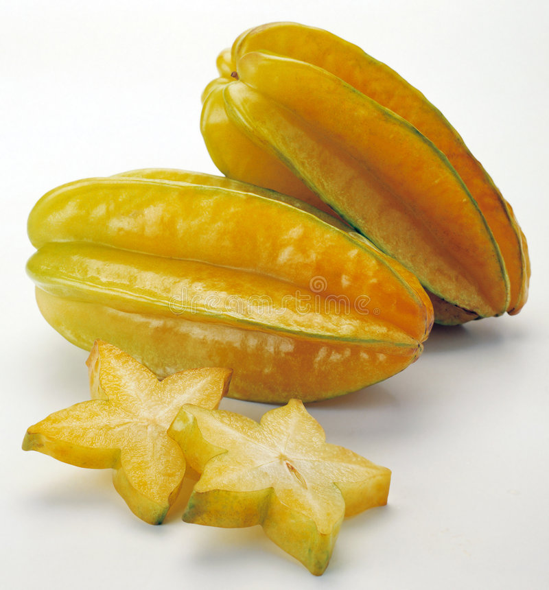 Star Fruits Stock Image