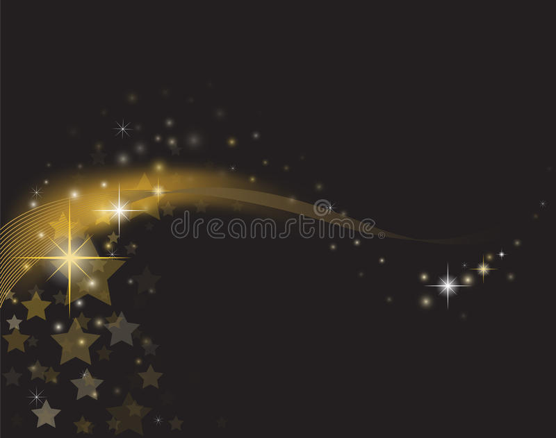Download Star Glow stock vector. Image of glitter, waves, glowing - 28962486