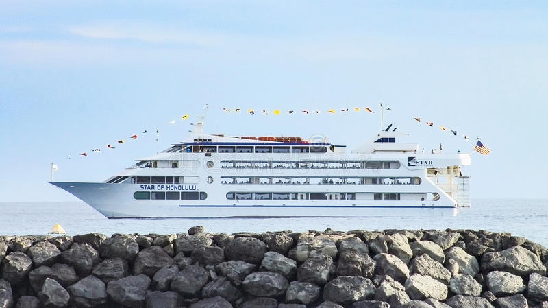 Star of Honolulu cruise ship royalty free stock images