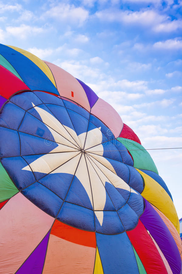 Download Star Hot Air Balloon stock image. Image of reno, flags - 21373003