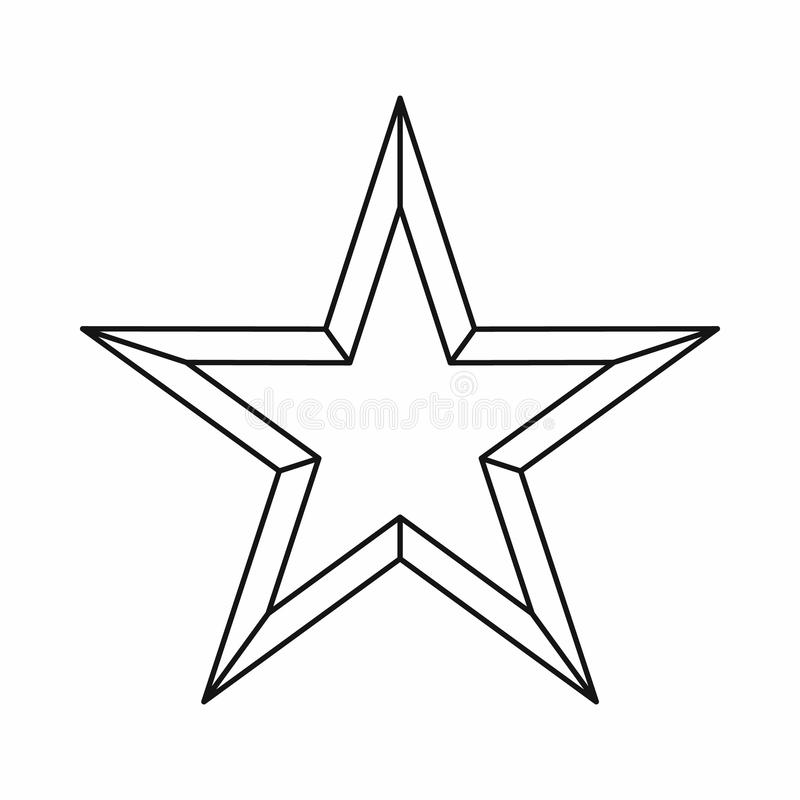 Star icon outline style stock vector image of illustration download star icon outline style stock vector image of illustration 81984921 sciox Images