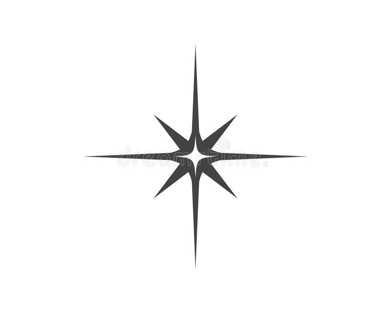 Star icon Template vector illustration