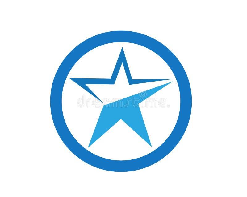 Star icon Template stock illustration