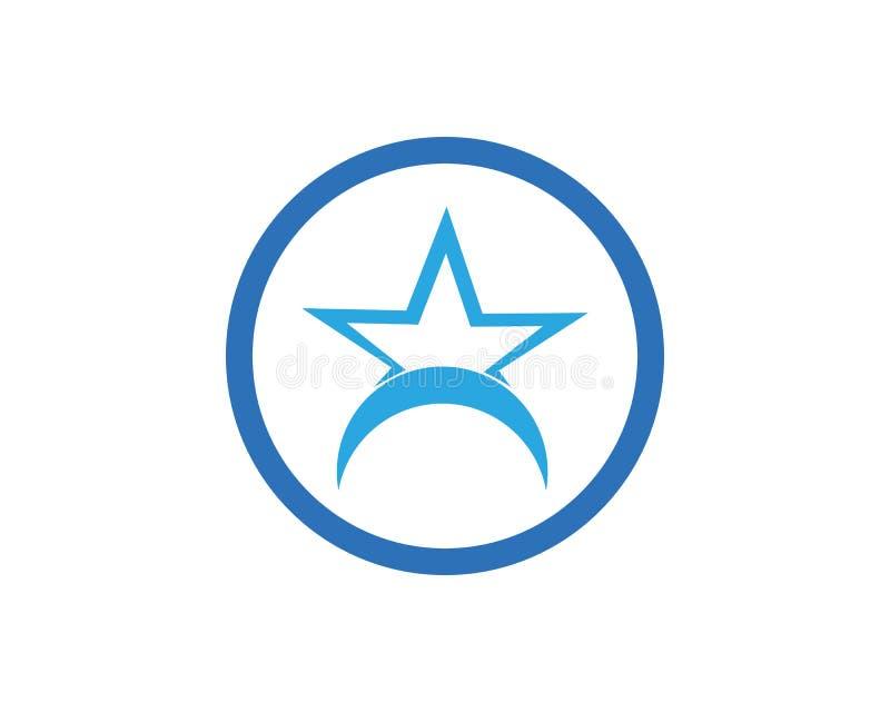 Star icon Template. Vector illustration design, logo, stars, symbol, background, element, success, isolated, shape, style, concept, graphic, web, black, art royalty free illustration