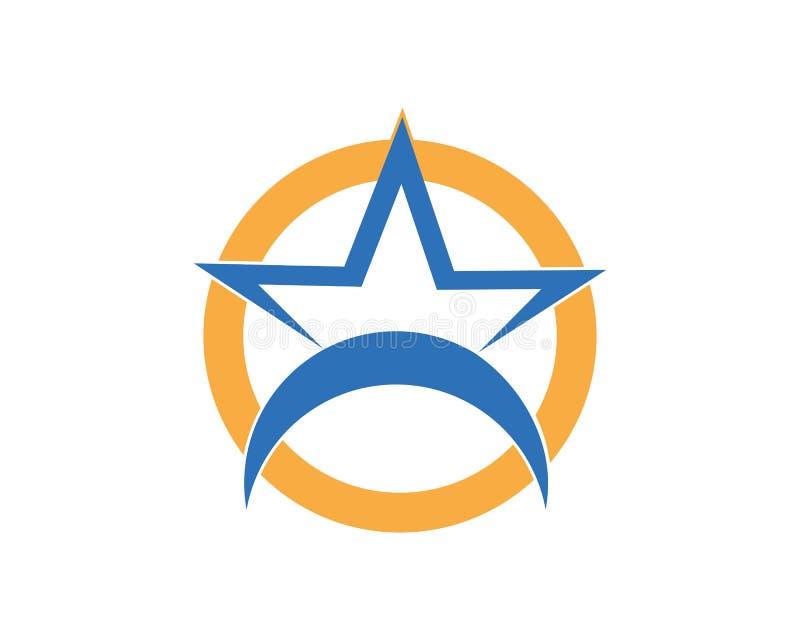 Star icon Template. Vector illustration design, logo, stars, symbol, background, element, success, isolated, shape, style, concept, graphic, web, black, art stock illustration