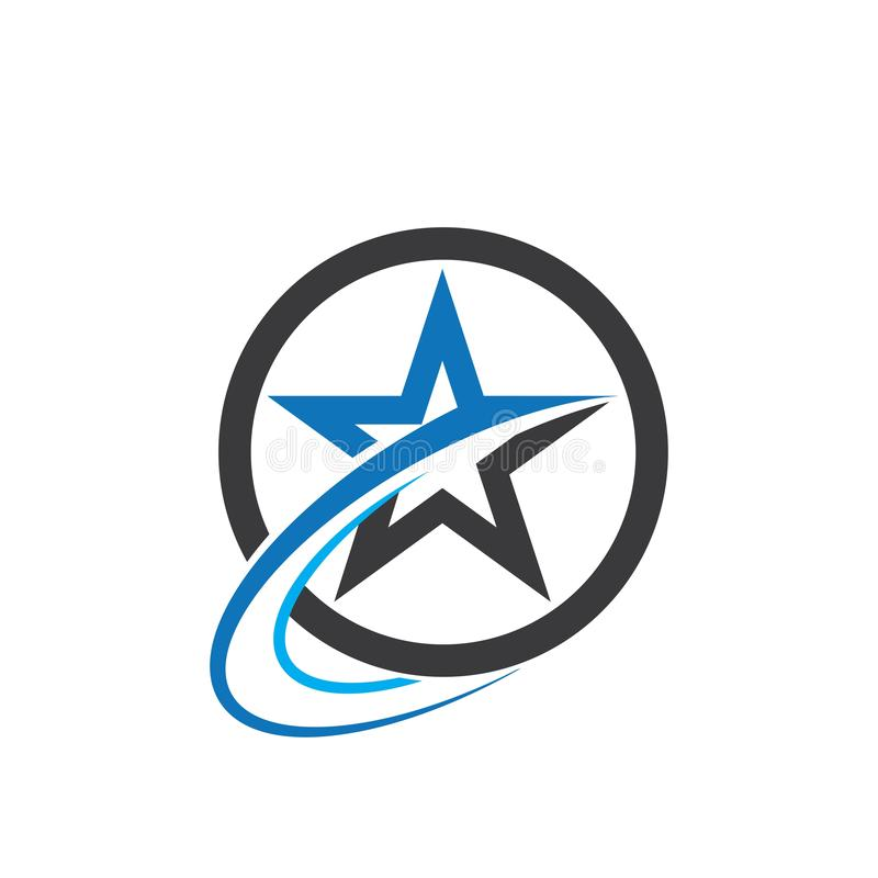 Star icon Template. Vector illustration design logo stars symbol background element success isolated shape style concept graphic web black art leader business royalty free illustration