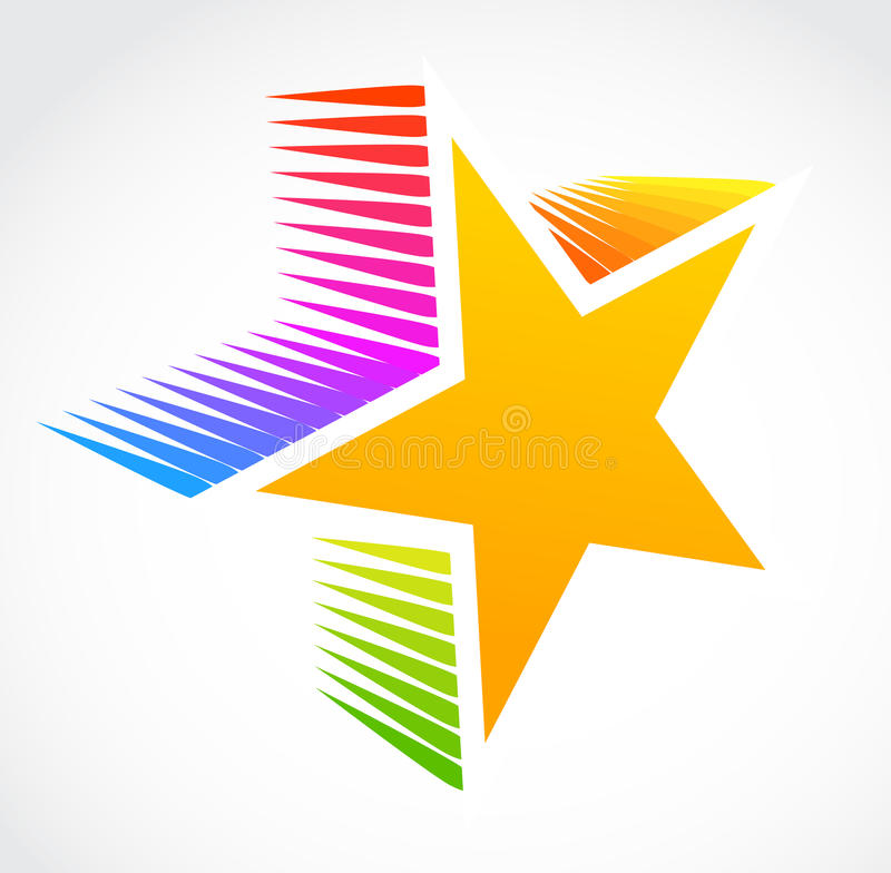 Star Icon, Vector Royalty Free Stock Photo
