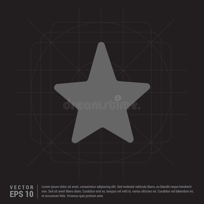 Star Icon royalty free illustration