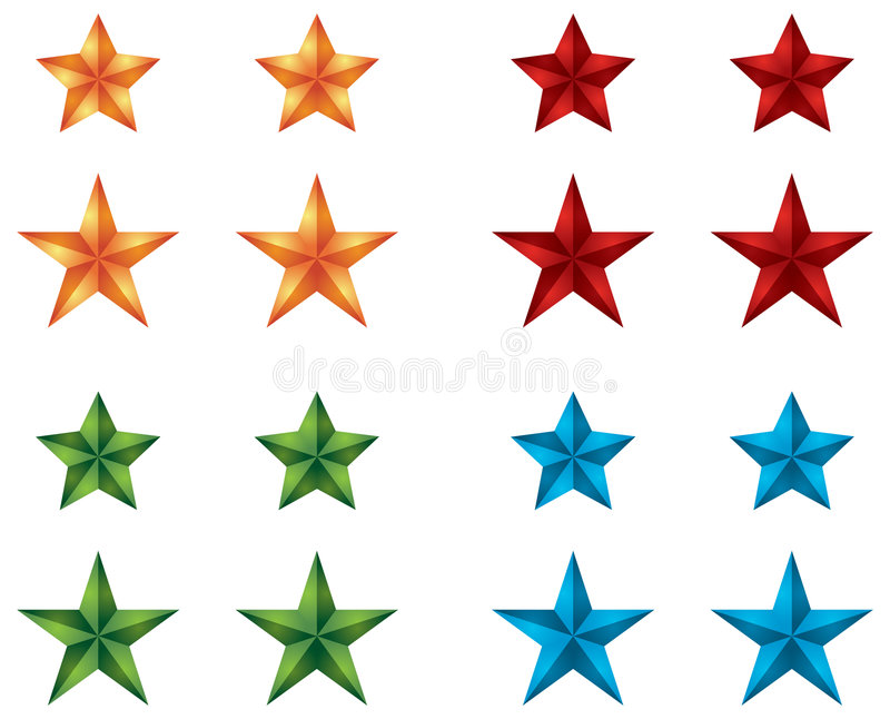 Star Icons for web design