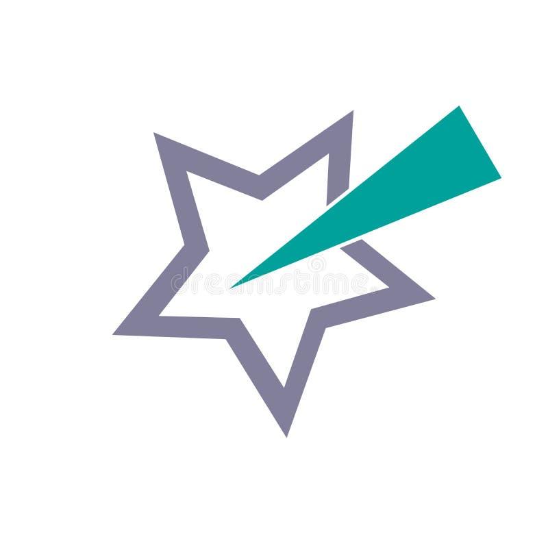 Star l'estratto, illustrazione di vettore isolata su fondo bianco illustrazione vettoriale