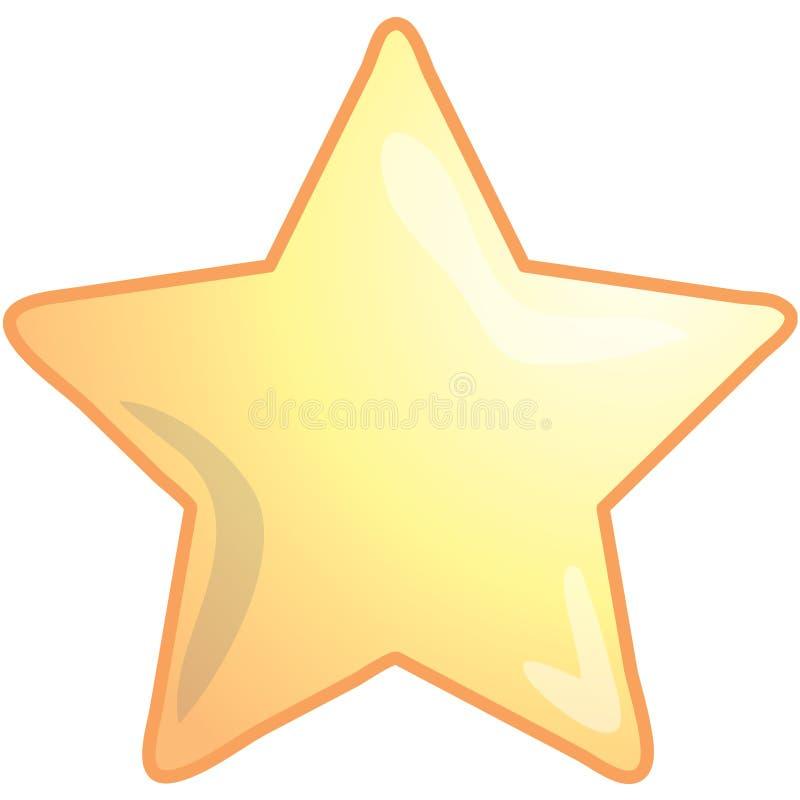 Star l'icona illustrazione vettoriale