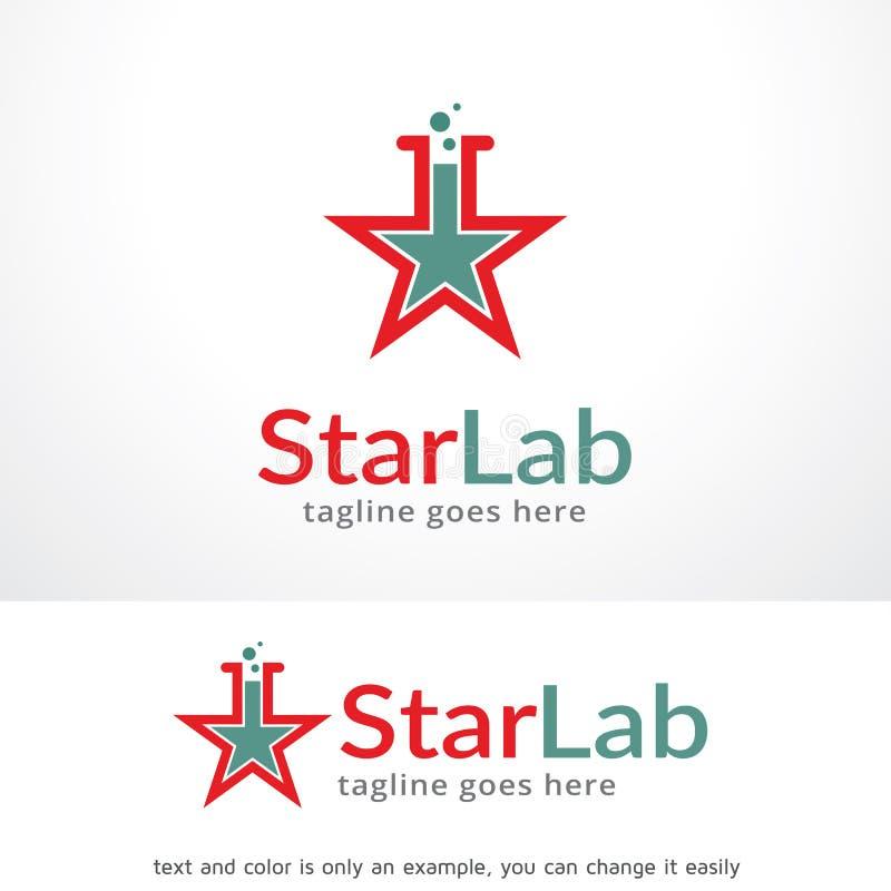 Star Lab Logo Template Design Vector Emblem Design Concept