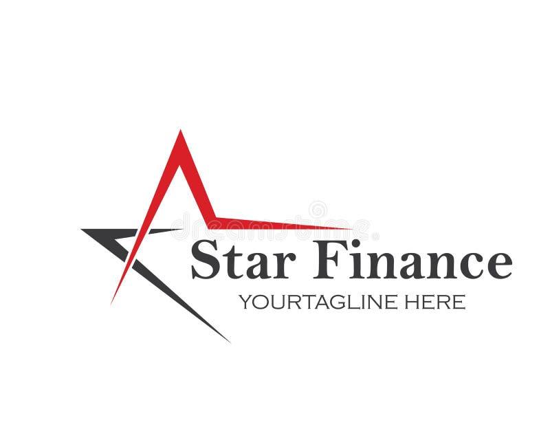 Star,A letter  Logo Template vector icon illustration. Design stock illustration