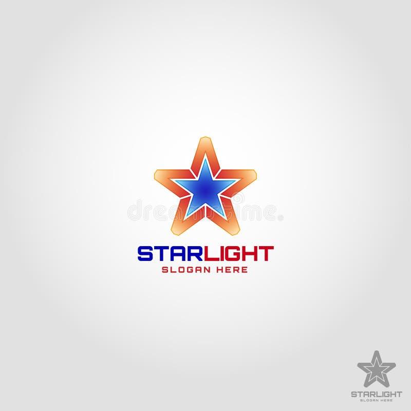 Star Light Logo template.  vector illustration