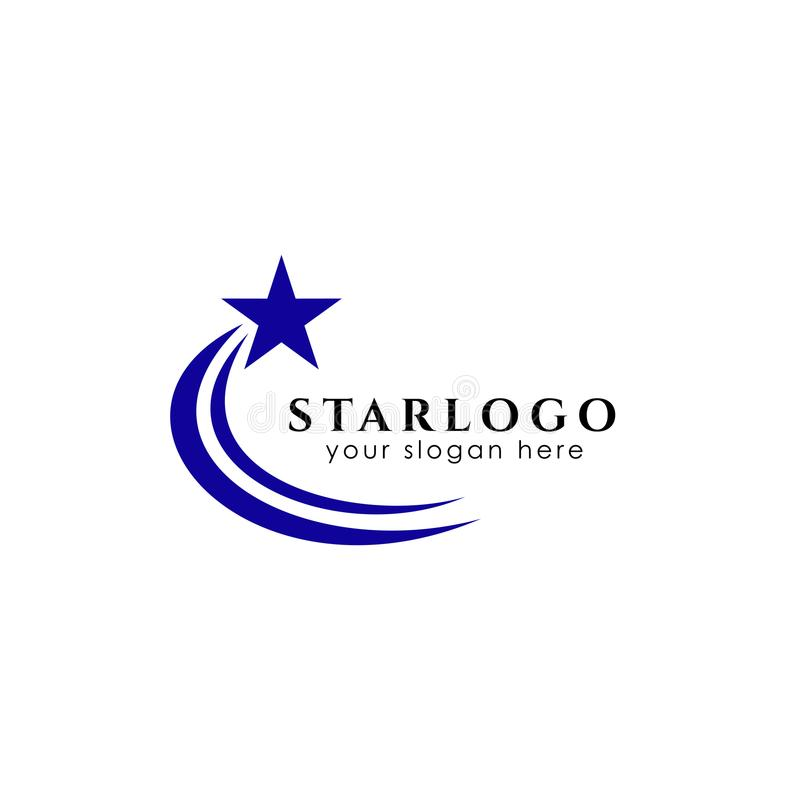 star logo design stock. star vector icon stock illustration