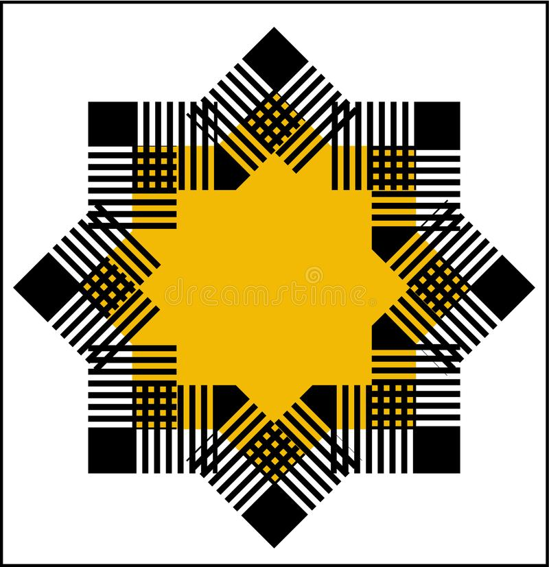 Star logo royalty free stock image