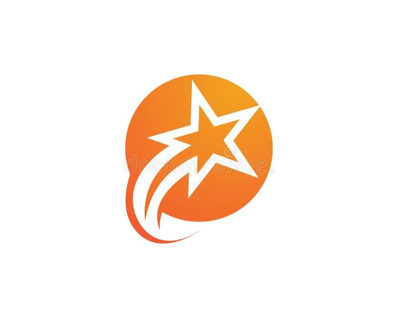 Star Logo Template vector icon illustration design stock illustration