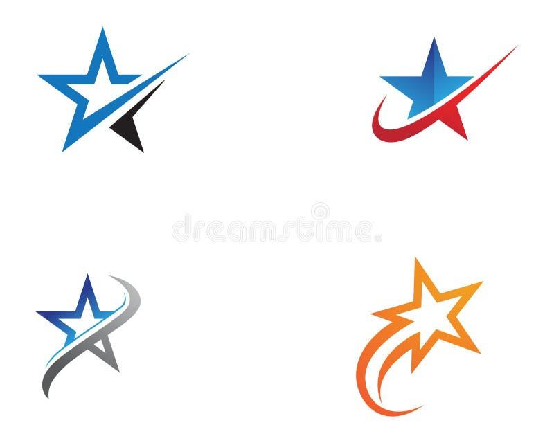 Star Logo Template vector icon illustration design vector illustration