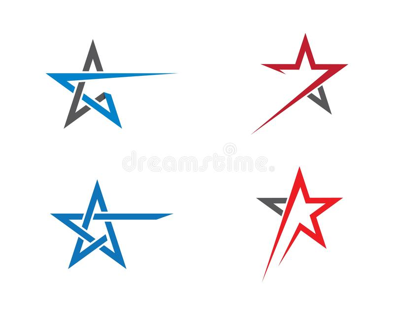 Star logo template illustration design vector illustration