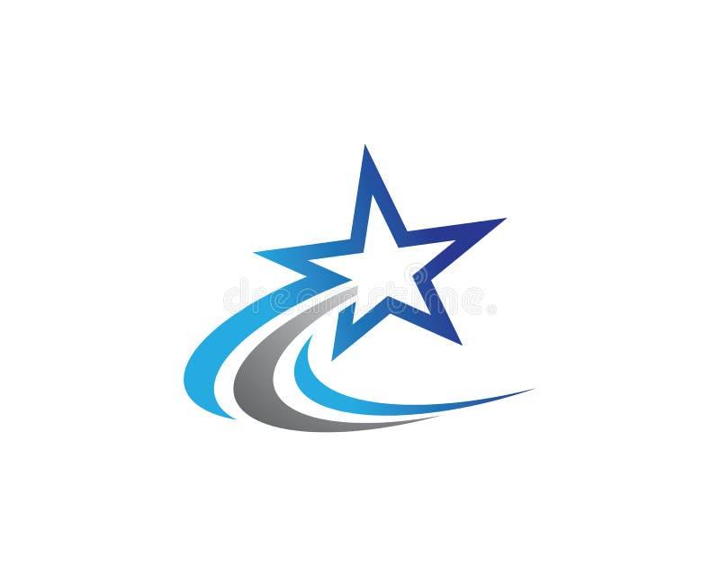 Star Logo Template stock illustration