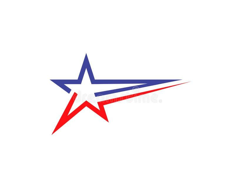 Star Logo Template vector icon illustration design. Star Logo Template vector icon illustration stock illustration