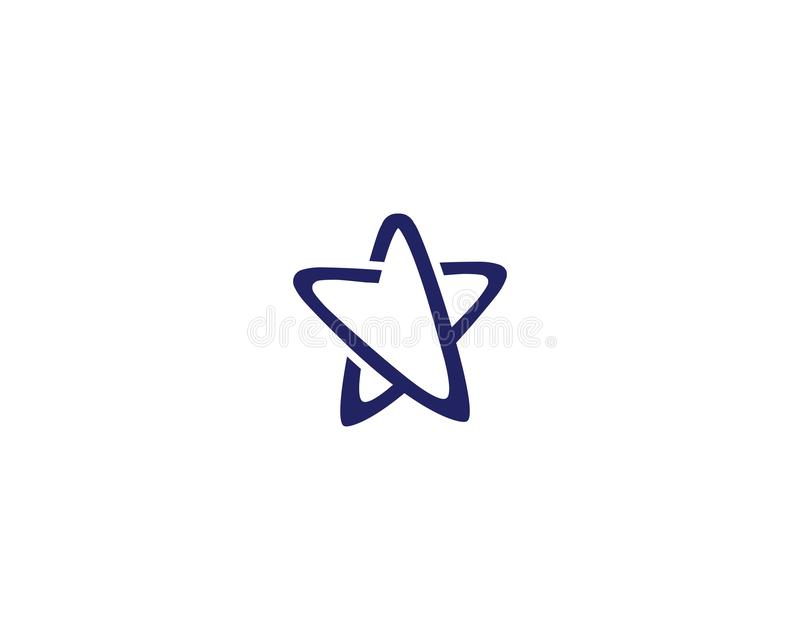 Star Logo Template vector icon illustration design. Concept, shape, modern, identity, element, symbol, business, success, brand, logotype, idea, branding vector illustration