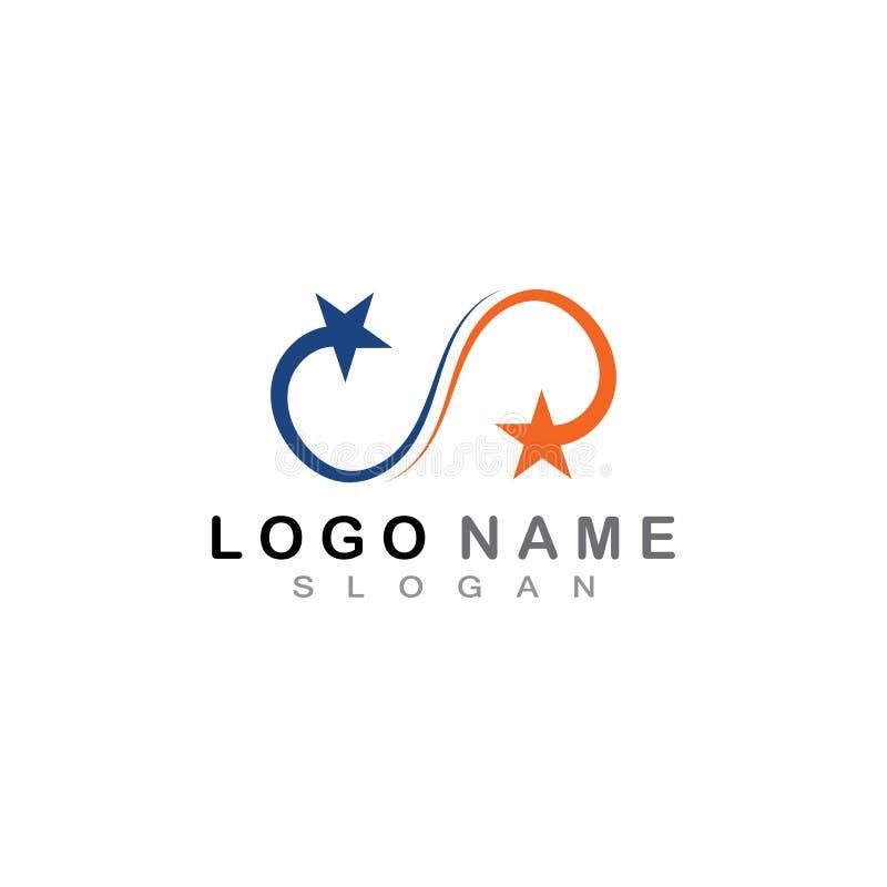 Star Logo Template vector icon illustration design. Star Logo Template vector icon illustration design, air, arrow, brand, branding, business, clean, company stock illustration