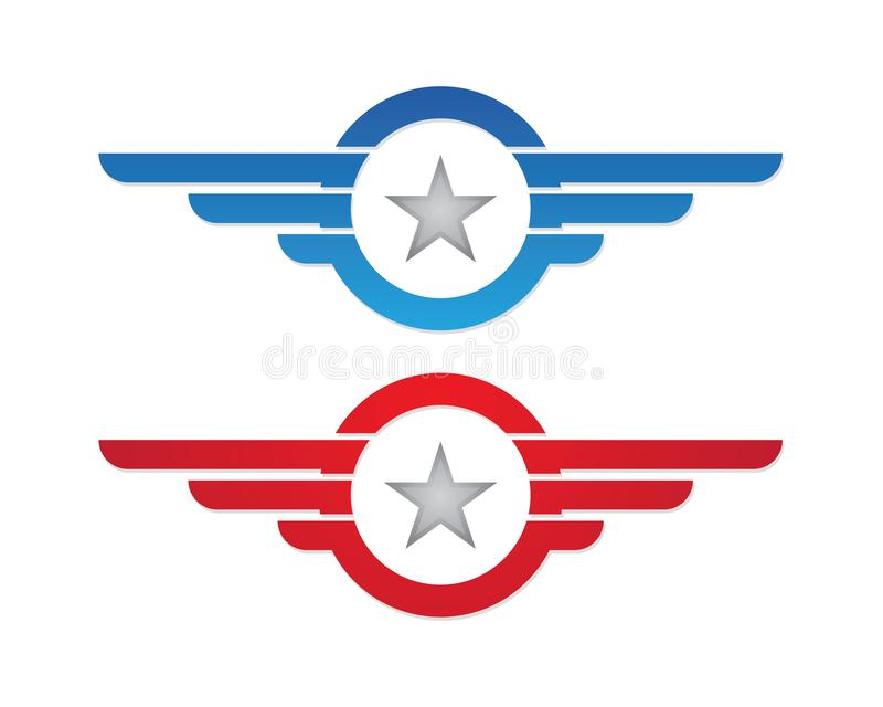 Star Logo Template vector illustration
