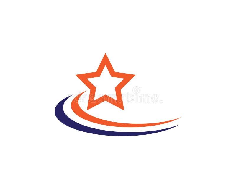 Star logo template. Vector icon illustration design stock illustration