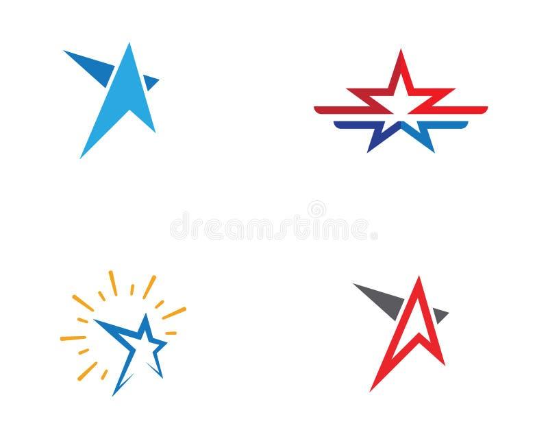 Star Logo Template vector. Icon illustration design stock illustration