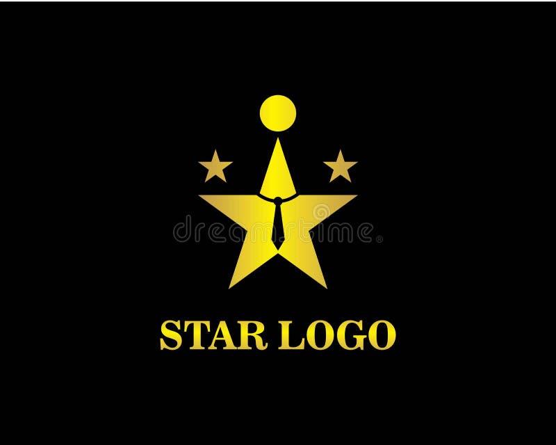 Star Logo Template vector icon illustration. Design stock illustration