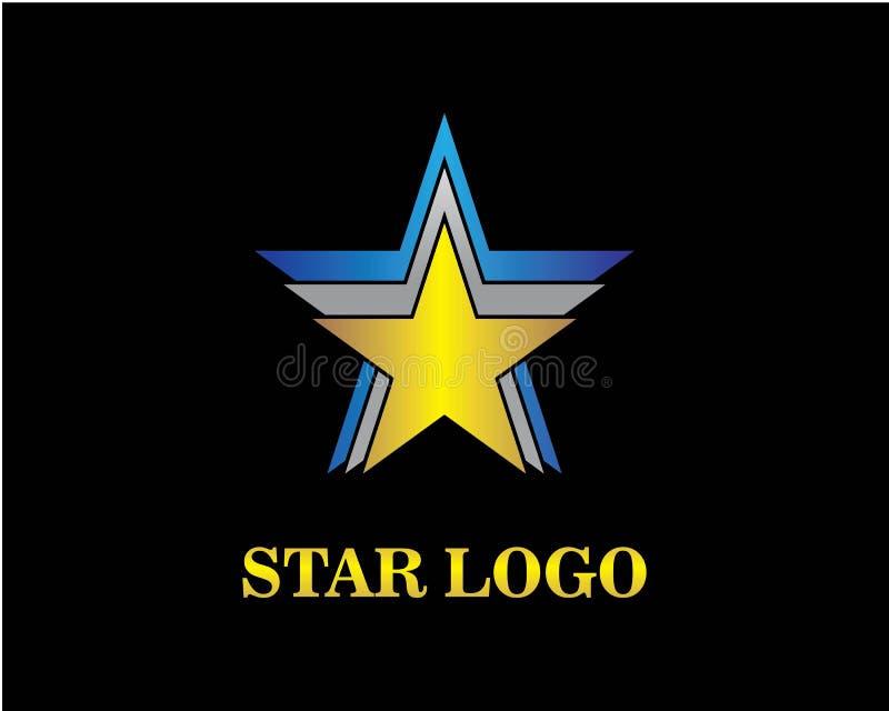 Star Logo Template vector icon illustration. Design vector illustration