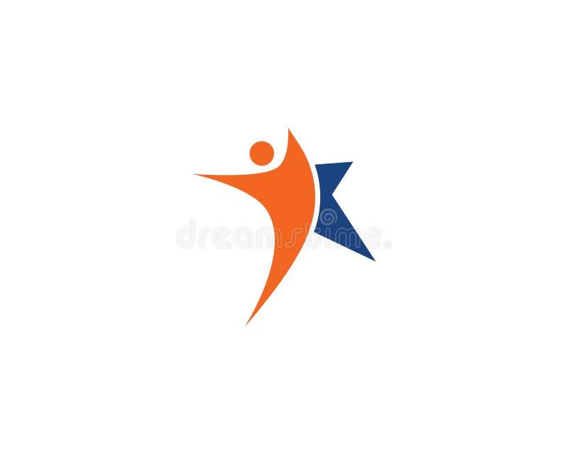Star Logo Template. Vector stock illustration