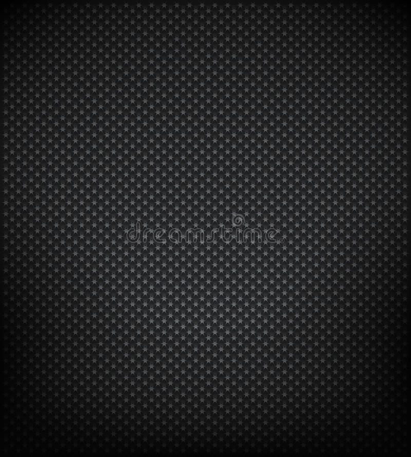 Star metal background vector illustration