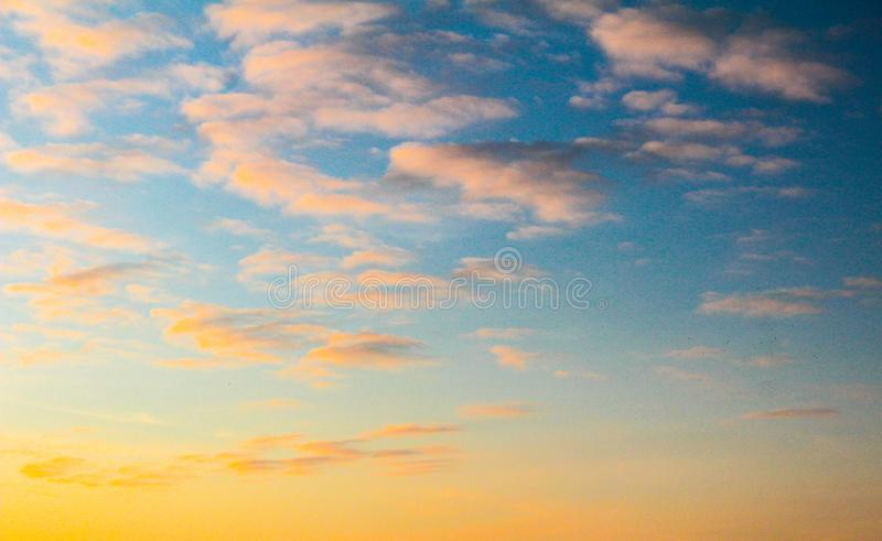 Star named sun at sunset day dark sky gray clouds royalty free stock photos