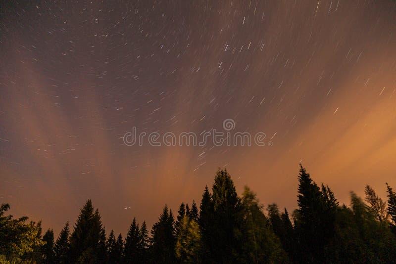 Star night sky royalty free stock photos