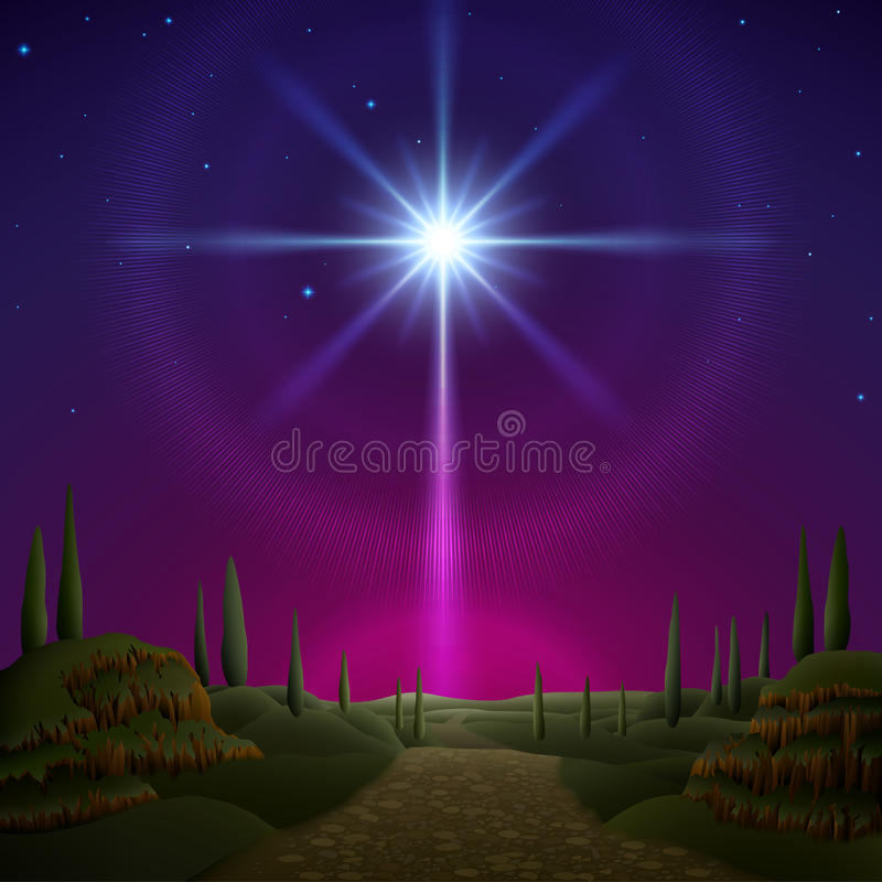 Free Star Of Bethlehem Stock Image - 46808031