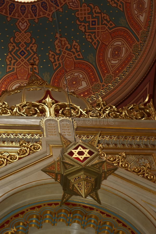 Free Star Of David Budapest Synagogue Royalty Free Stock Images - 51887619