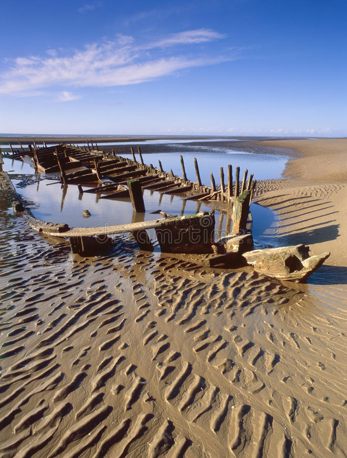 Free Star Of Hope, Bow. Shipwreck 1883, Southport Stock Photography - 23170652