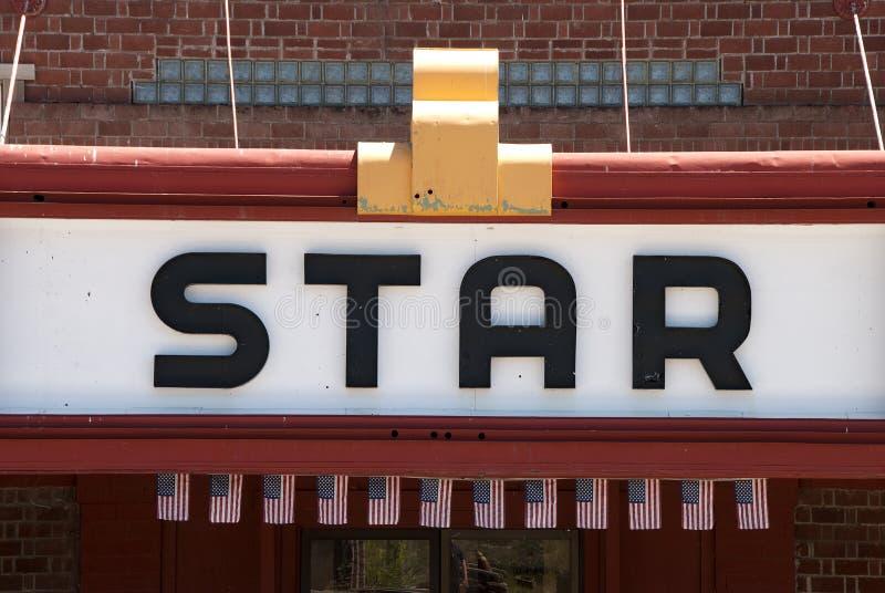 Download Star stock image. Image of advertising, metal, theater - 39502285