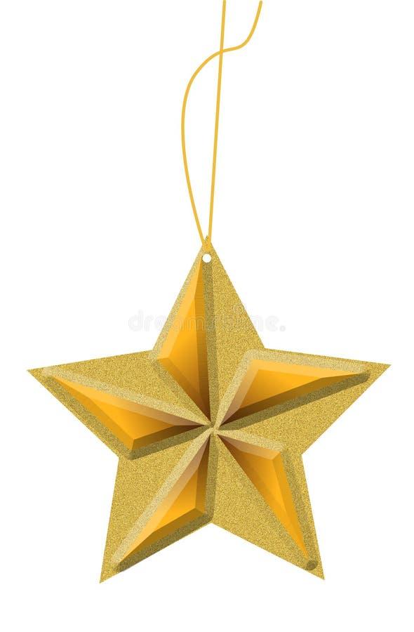 Star ornament stock illustration