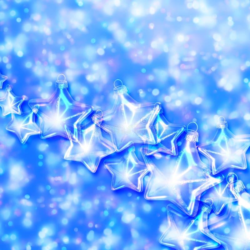 Star ornaments stock illustration