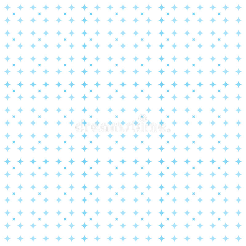 Star pattern. A pattern with blue star royalty free stock photography