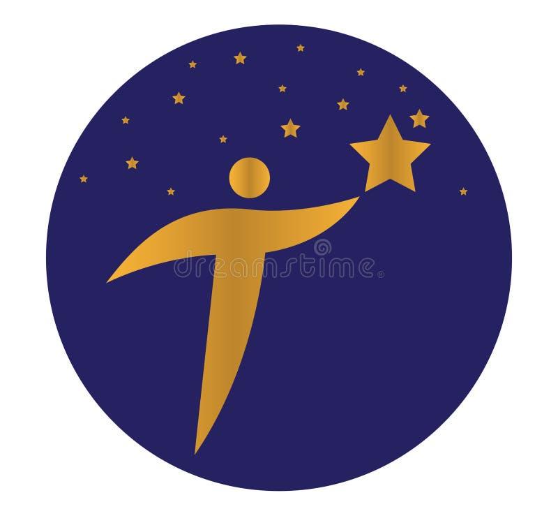 Download Star Person Concept Design Stock Illustration - Image: 83708153