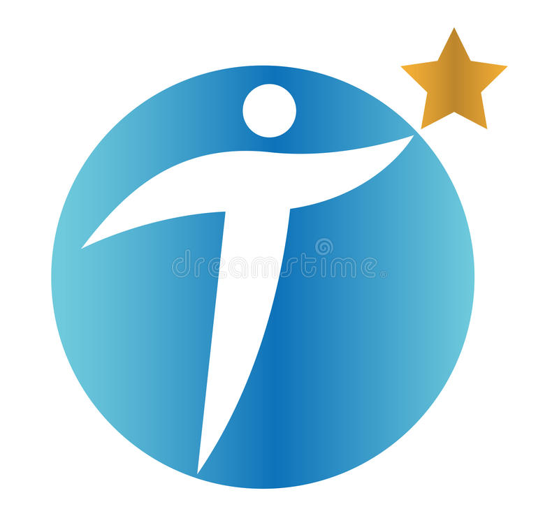 Download Star Person Concept Icon Design Stock Vector - Image: 83706467