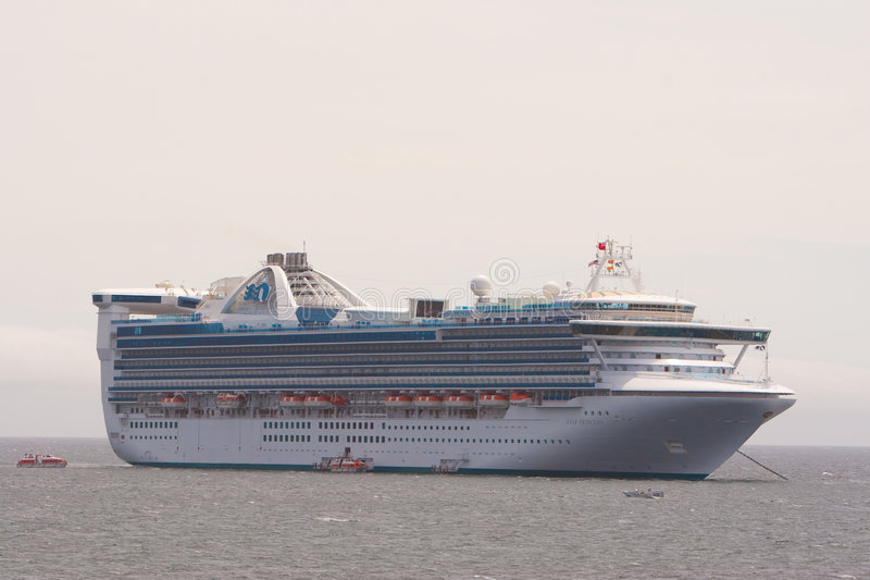 Download Star Princess at Anchor editorial image. Image of launch - 9208455