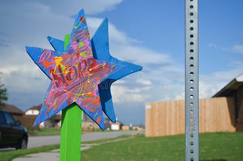 Star Project - Moore, OK royalty free stock image