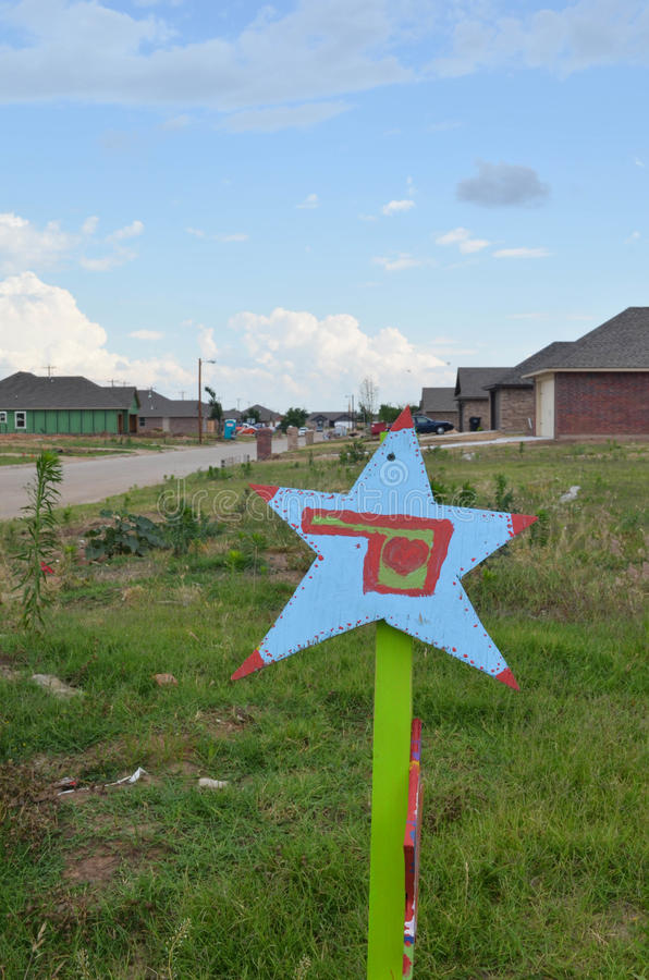 Star Project - Moore, OK stock photography