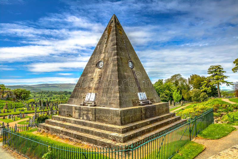 Star Pyramid Stirling. Star Pyramid in the Church of the Holy Rude in Stirling, Scotland, United Kingdom royalty free stock photo