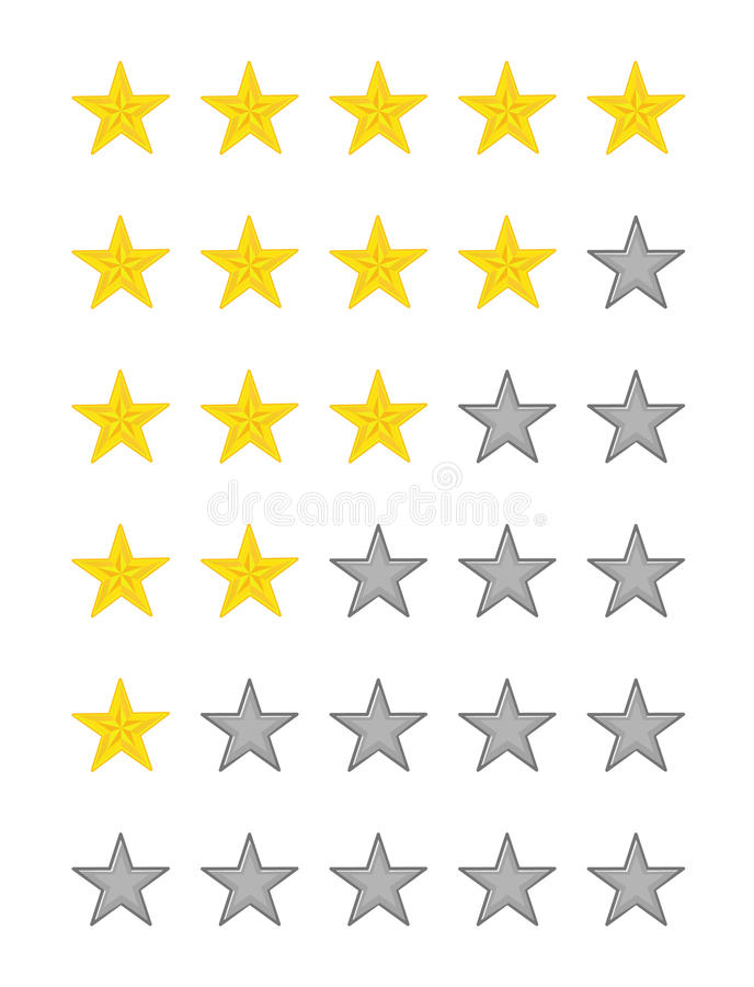 Star Quality Rating Stock Photos